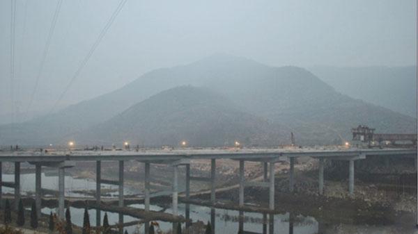 内邓高速第一标桥